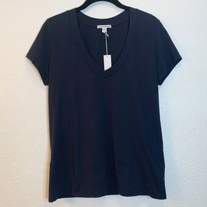James Perse Relaxed Casual V-Neck T-Shirt NWT
